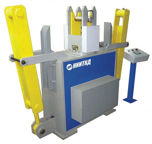 Automated stand for inspection of leaf springs