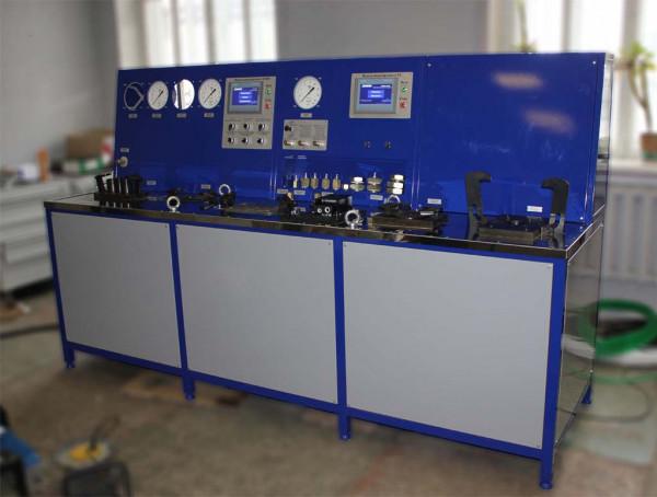 Automatisierter Prüfstand der automatischen Bremsausrüstung
