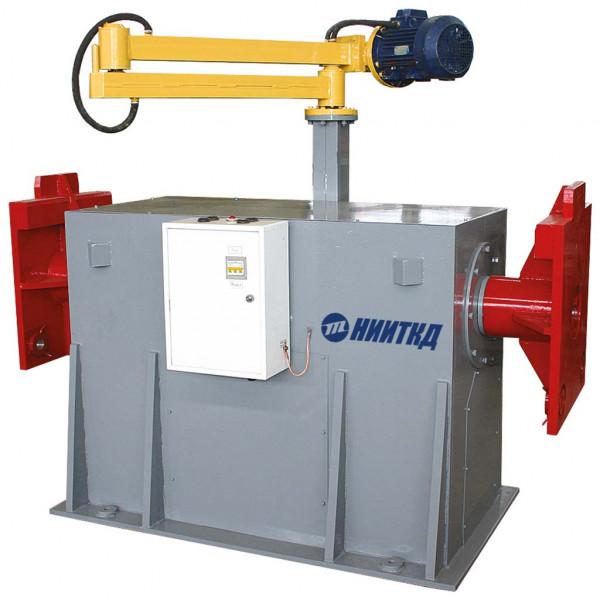 Mechanisierte Arbeitsstation zum Zerlegen und Zusammenbauen von elektrischen Hilfsmaschinen