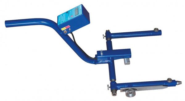 Ein Gerät zur Messung der Druckkraft eines Stromabnehmers mit einem Messbereich von 8-25 kgf