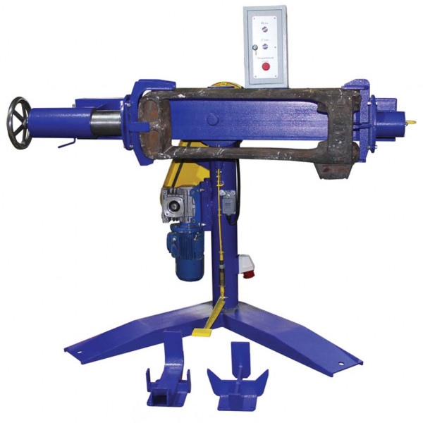 Traction clamp surfacing workstation
