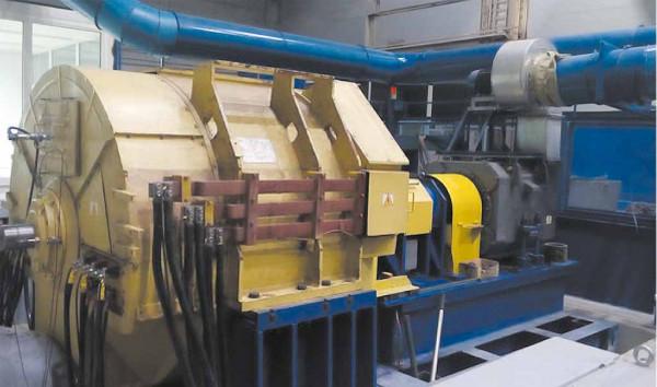 Станция испытаний тяговых генераторов