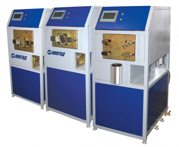 Complex test bench for air distributors, main, main part and automatic mode SIMGVR