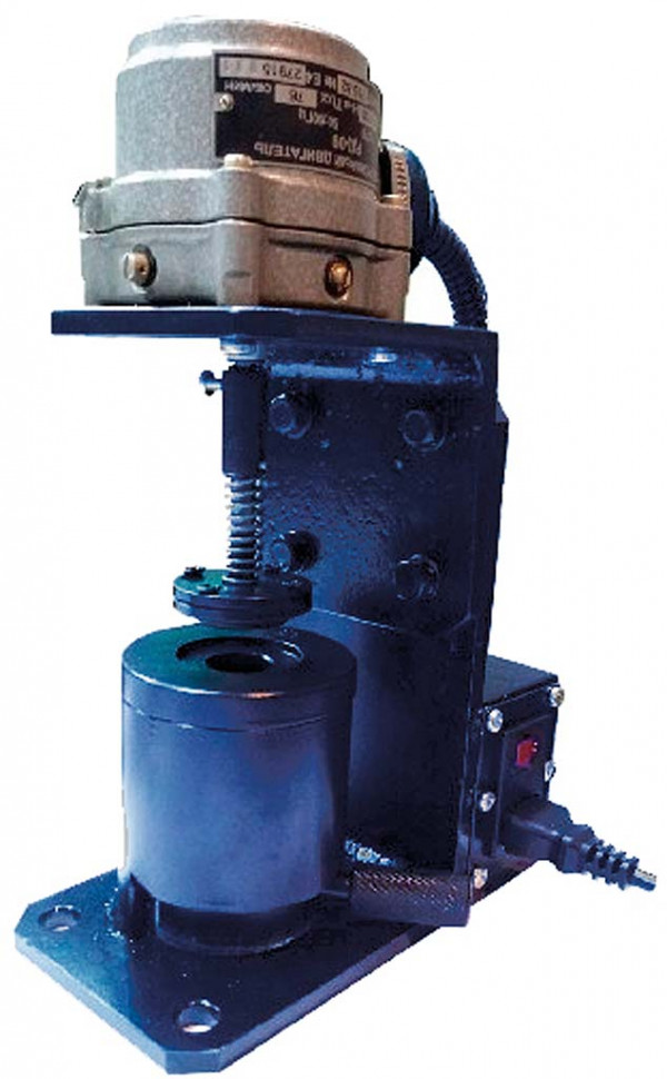 Stand for adjusting and lapping the valve of hydraulic vibration dampers