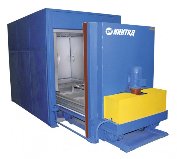 Automated drying chamber for traction motor anchors