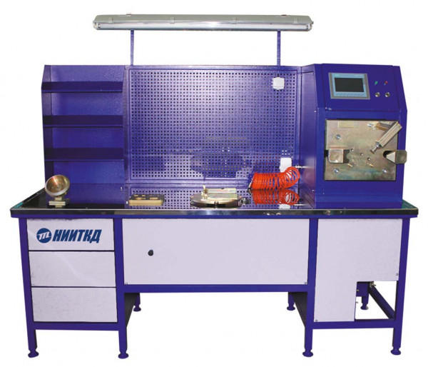Stand for repair and testing of the main part of the SIMVR air distributor