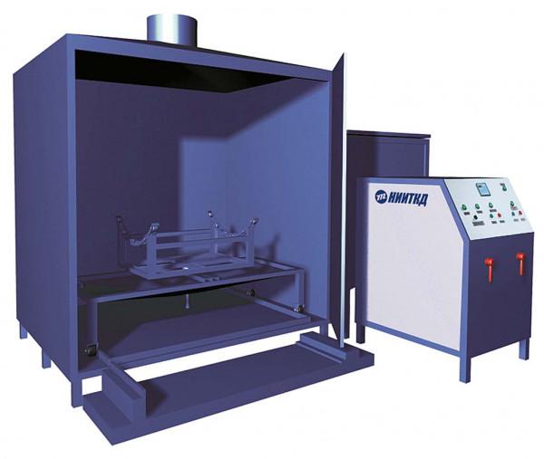 Установка для промывки воздушних резервуаров 02