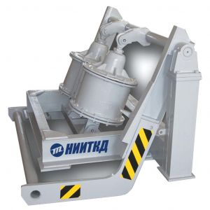 Wheelset lifting (lowering) unit