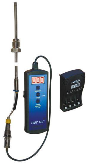 Tragbarer Mikroprozessor zur Überwachung der Abgastemperatur an den Zylindern des Diesels PMU TVG