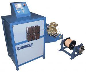 Станок для намотки катушек статора вспомогательных машин