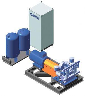 Стенд обкатки и испытания компрессоров
