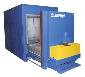 Automated drying chamber for traction electric motor anchors