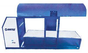 Hydraulischer und pneumatischer Prüfstand für den Ersatzbehälter SIPZR
